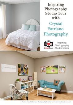Photography Studio Tour with Crystal Satriano via iHeartFaces.com
