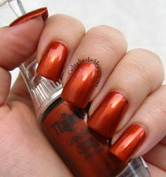 Trind Caring Color CC192 Sunset Orange (Beauty of Nature collection Fall/Winter 2013)