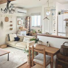 tomoさんの、リビング,ニトリ,無印良品のソファ,お勉強スペース,のお部屋写真