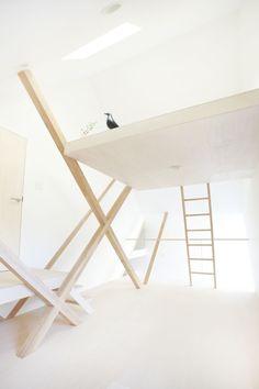 Stair | House | H - Chiba, Japan, 2012 by Hiroyuki Shinozaki Architects | photography Fumihiko Ikemoto