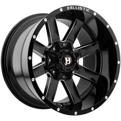 Ballistic 959 Rage Black Milled Offset Wheels Rims for sale online Silverado Wheels, Jeep Wheels, Wheels And Tires, Chevrolet Silverado 1500, Chevy 1500, 22 Inch Rims, 42 Inch, Wheel And Tire Packages, Aftermarket Wheels