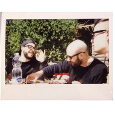 Italian lunch and gestures.Funny friends,good time.