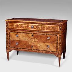 English Antique Furniture — Antique Italian commode, Giuseppe Maggiolini...