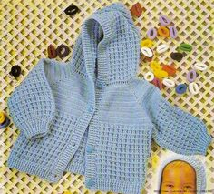 3802fc8fdfc32 chaussons bb - Nathalie Calvarin - Álbumes web de Picasa. Saquito Crochet  BebeJersey ...