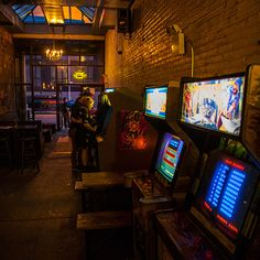 With dozens of microbrews on tap and dozens of arcade games to conquer, Barcade is a paradise for beer geeks and video game geeks alike. And since each of the machines costs just 25 cents per play, you can explore to your heart's content, whether revisiting old favorites like Ms. Pac-Man and Donkey Kong or branching out a bit. 388 Union Ave., Brooklyn, 718-302-6464