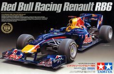 Tamiya F1 Red Bull renault