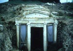 Vergina the Royal Tombs,Macedonia Greece