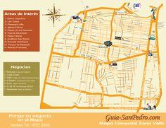 Mapa: Zona Valle Guia-SanPedro.com   otoño 2012