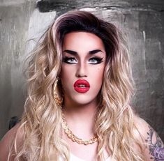 Adore Delano is a female impersonator that got her start from American Idol but then transitioned to Drag Race Drag Queen Makeup, Drag Makeup, Hair Makeup, Drag Queens, Danny Noriega, Adore U, Love Your Hair, Makeup Inspiration, Makeup Inspo