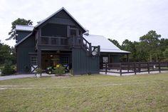 Morton Buildings horse barn in South Carolina.