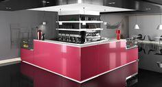 Italian Bar Furniture Design - Model CUBO
