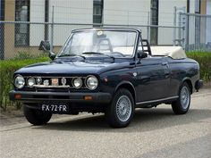 Volvo 66 Cabriolet. Only 6 have ever been made!