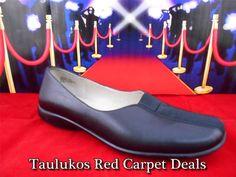 Womens shoes AK ANNE KLEIN Ballet FLATS Slip-on Loafers Black LEATHER sz 6.5 M #AnneKlein #LoafersMoccasins  #ForSale #Fashion #RedCarpet