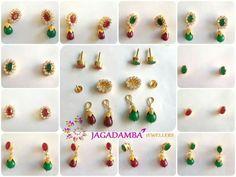 Saved by radha reddy garisa Gold Jhumka Earrings, Gold Earrings Designs, Gold Jewellery Design, Gold Designs, Gold Rings Jewelry, Gold Necklaces, Beaded Jewelry, Jewelery, Small Earrings