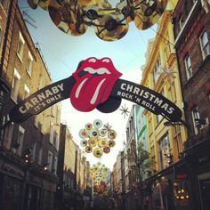 Carnaby Street, Rolling Stones style
