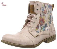 Mustang 1157-548, Bottes Classiques Femme, Rouge (555 Rose), 42 EU - Chaussures mustang (*Partner-Link)