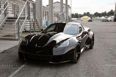 Supervettes GT6X at Corvette's of Carlisle 2015.  A Beast!