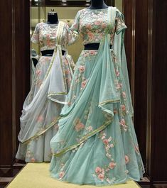 Pearl_designers Book ur dress now Completely stitched Customised in all colours For booking ur dress plz dm or whatsapp… Indian Fashion Dresses, Indian Bridal Outfits, Indian Gowns Dresses, Dress Indian Style, Indian Designer Outfits, Bridal Dresses, Designer Dresses, Indian Wedding Dresses, Half Saree Designs