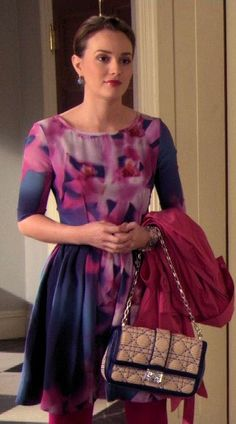 Blair Waldorf Floral Dress It Girl Interrupted.  So pretty!