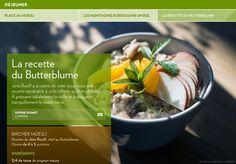 Jens Ruoff a accepté de créer pour nous une recette semblable à celle offerte au Butterblume. À préparer idéalement la veille et à déguster tranquillement lematin venu.