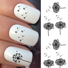 1 pc Nail Art Water Sticker Decals Tags Water Transfer Nail Beauty Decorations