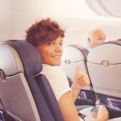 Louis..on a plane