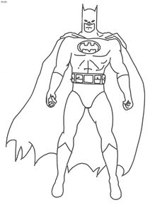 find this pin and more on embroidery cartoon characters batman coloring pages for kids printable free - Drawing For Boys