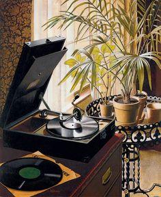 Gramophone, 1930 — Rudolf Dischinger