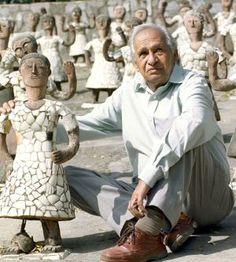 Nek Chand, creador de un mundo de fantasía a partir de desechos | Cultura | EL PAÍS
