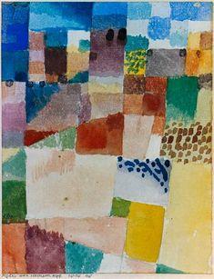 Paul Klee, Motiv aus Hammamet. 1914 / Journey to Tunisia, ZPK Bern / Kunstmuseum Basel
