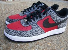 "Nike Air Force 1 ""Supreme 2012″ Customs by Peculiar Kinetics"