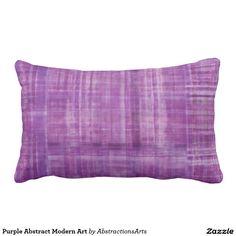 Purple Abstract Modern Art