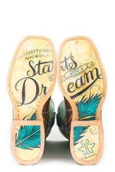 Tin Haul Dreamcatcher Start With A Dream Sole Boots - Urban Western Wear