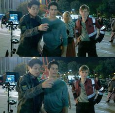 The Death Cure behind the scenes I love them