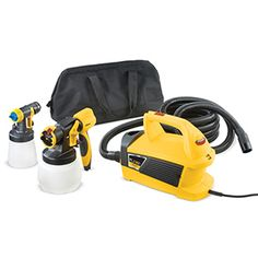 The FLEXiO 690 is an indoor/outdoor stationary paint sprayer ideal for extended projects such as large interior rooms, decks, fences and cabinets.