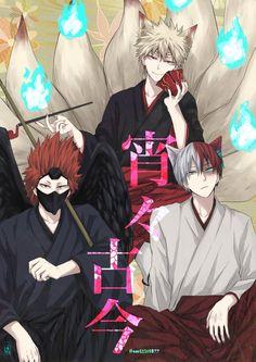 My Hero Academia - Bakugou, Kirishima & Todoroki