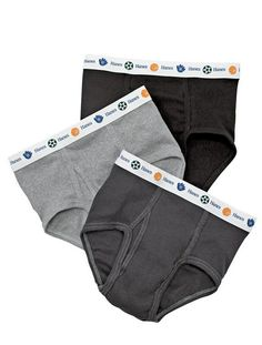 Hanes Little Boys' Dyed Brief - Assorted - ComfortSoft fabric. Let us pick for you. Hanes Dyed Brief. Assorted Features a printed Sports waistband. Toddler Underwear, Boys Underwear, Briefs Underwear, Cotton Underwear, Fashion Belts, Boy Fashion, Hip Ups, Hipster Shirts, Discount Nikes