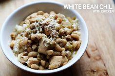 white bean chili.