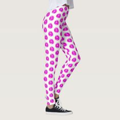 Shop Kiss Me Patterned Leggings created by BeeBeeDeigner. Personalize it with photos & text or purchase as is! Pop Art Lips, Patterned Leggings, Retro Pop, Comfy Hoodies, Kiss Me, Look Cool, Leggings Fashion, Dressmaking, Lounge Wear
