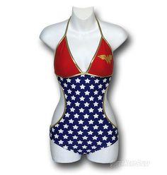 Wonder Woman Triangle Monokini Swimsuit  http://www.superherostuff.com/wonder-woman/swimwear/wonder-woman-triangle-monokini-swimsuit.html?itemcd=bikiwwtrimono#
