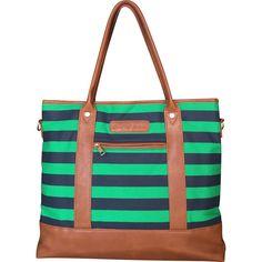 0b7954417c3 Alex Diaper Bag Navy   Green by Mama Martina