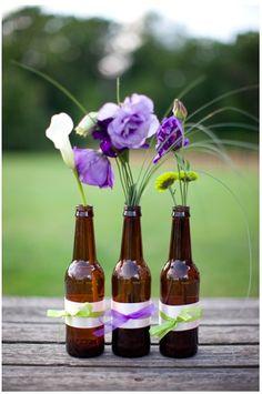 Brolly Beer Festival Wedding Flowers