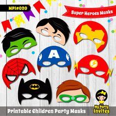 Superhelden-Masken MPI #020  DIESES PRODUKT IST EIN INSTANT-DOWNLOAD-ELEMENT. ICH NICHT VERKAUFEN ODER MAILEN SIE PHYSISCHE PRODUKTE. Was Sie kaufen ist eine digitale Datei, dass SIE müssen Druck bis zum fertige Produkt zu erhalten. ★ können Sie diese Masken für alle Arten von Veranstaltungen und Feste wie Halloween, Geburtstage, Kostüm Parteien, Schulaufführungen, etc.. ---INHALT DES ELEMENTS Mit dem Kauf dieses Artikels erhalten Sie die folgenden in hoher Auflösung zum ausdrucken: ★ 8…