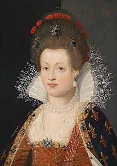 Maria de Medici attributed to Frans Pourbus the Younger, 1605