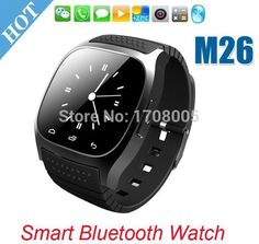 >> Click to Buy << SmartWatch Bluetooth Smart Watch M26 with LED Display / Dial / Alarm /Pedometer for Android IOS HTC Mobile Phone #Affiliate