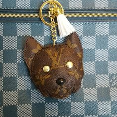 b58f5ec7ddc0 Westie charms bundle (In Process) RESERVED ON HOLD FOR  BARGAINS4ME Handbag  charm keychain. Louis Vuitton ...
