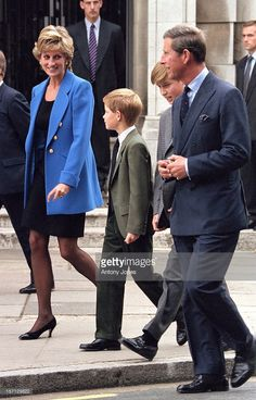 Prince William Meets With His New Housemaster Dr Andrew Gailey At Eton College Accompanied By...