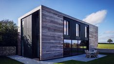 UK Passivhaus specialist Mike Jacob has joined with award-winning architect Adrian James to create a flatpack home that takes less than a week to install. Offering two, three and four bedroom versions, the Kiss House is built using cross-laminated timber.