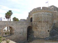 Fortaleza de defensa en Almuñécar Costa Tropical de Granada.