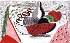 DAVID HOCKNEY : GRAPHICS / Homemade Prints